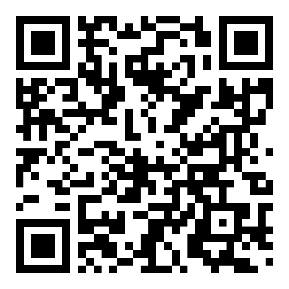 QR-Code Newsletteranmeldung