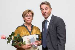 Christiane Endler mit Günter Baaske (Quelle: Jan Henkel)