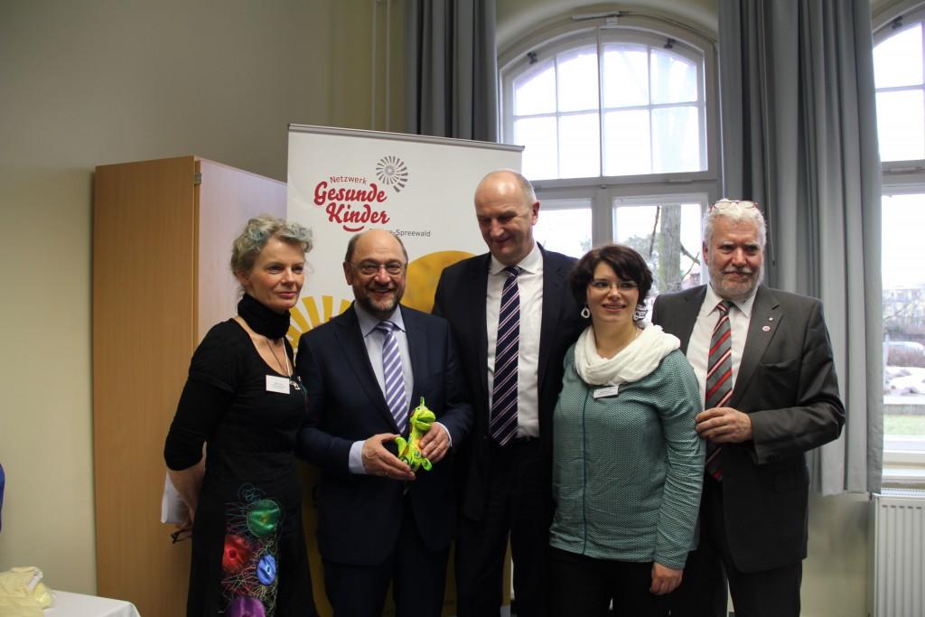 Dahme-Spreewald Besuch Martin Schulz 2